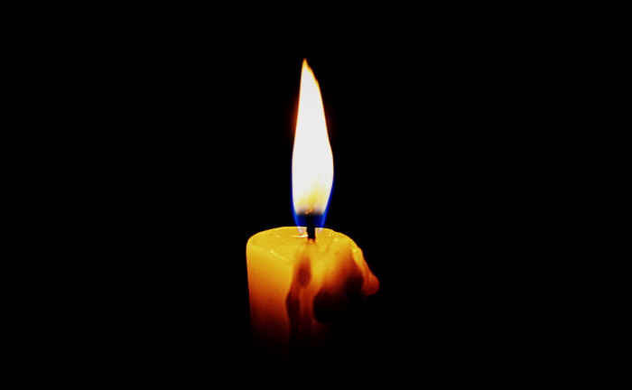 candle in the dark - photo #17
